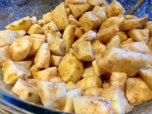 coated pears